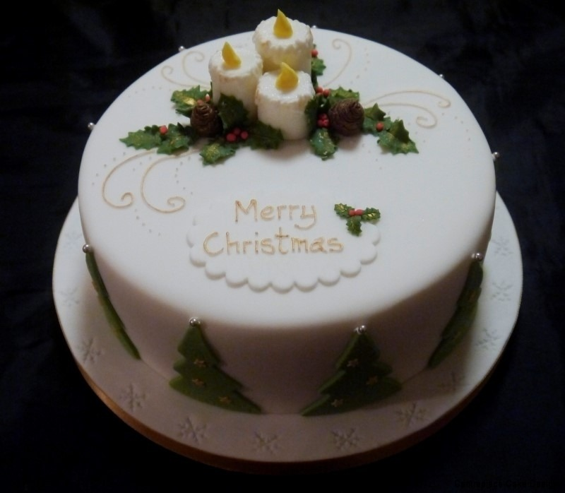 Christmas Cakes From 5500 Centrepiece Cake Designs