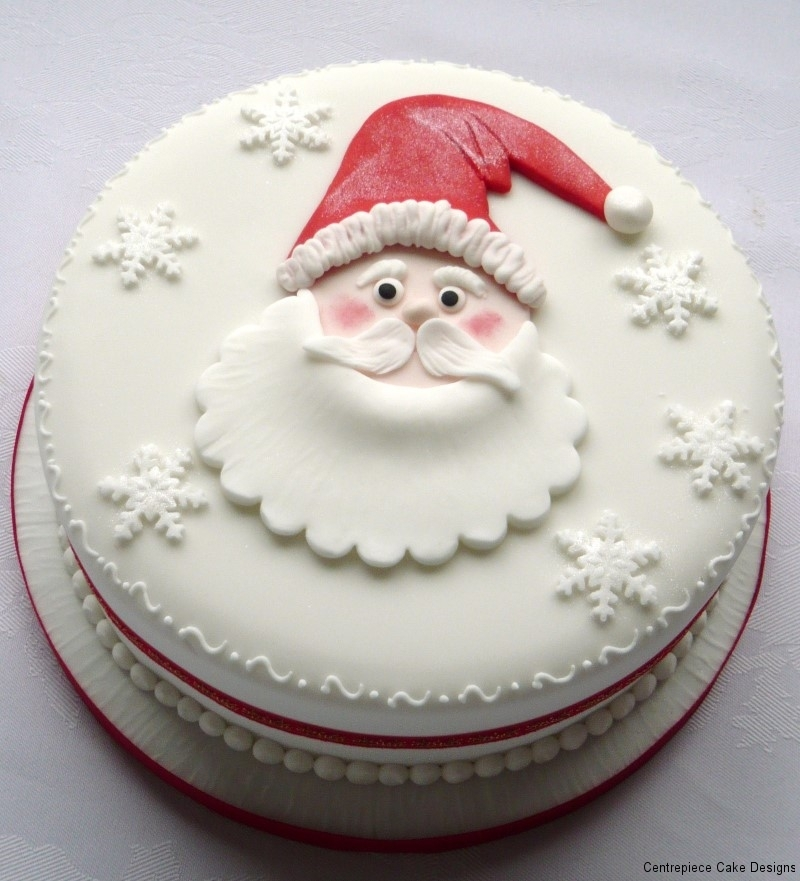 Christmas Cakes From 163 55 00 Centrepiece Cake Designs