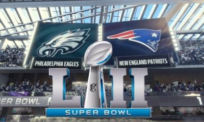 Super Bowl 52 Live Patriots Eagles 2018