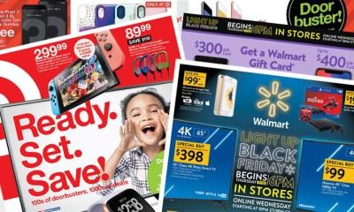 Black Friday 2018: Walmart vs. Target Ad Catalog, Best Doorbuster Deals and Online Sales Start Time Showdown