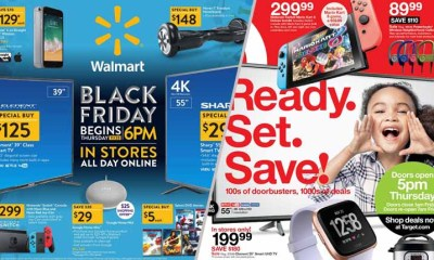 Walmart vs Target Deals Showdown- Black Friday 2018 Official Ad Release Date, Online & In-App Sales