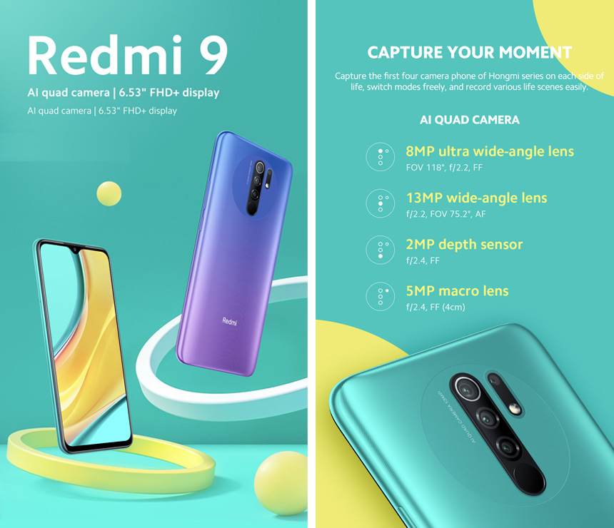 Ahead of launch, Redmi 9 gets listed on e-commerce website