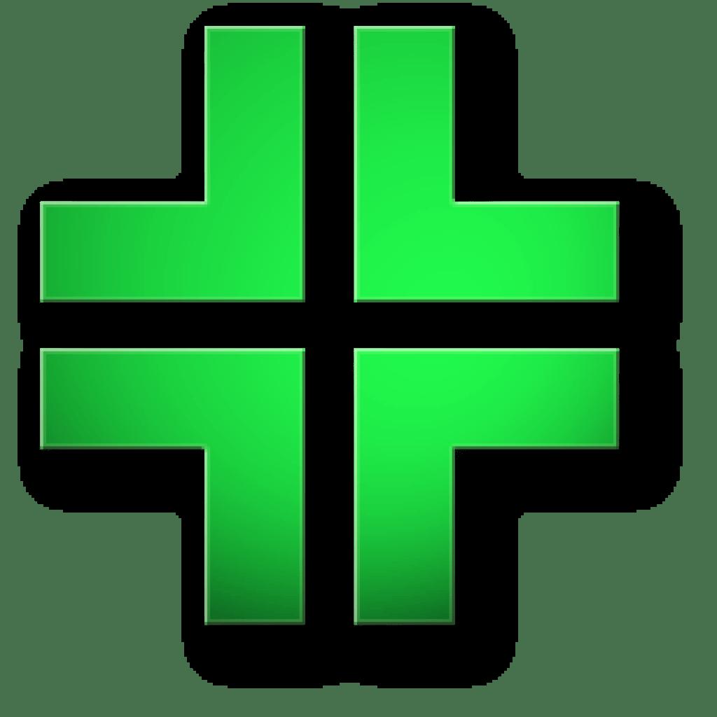 Simbolo farmacia visita audiometrica