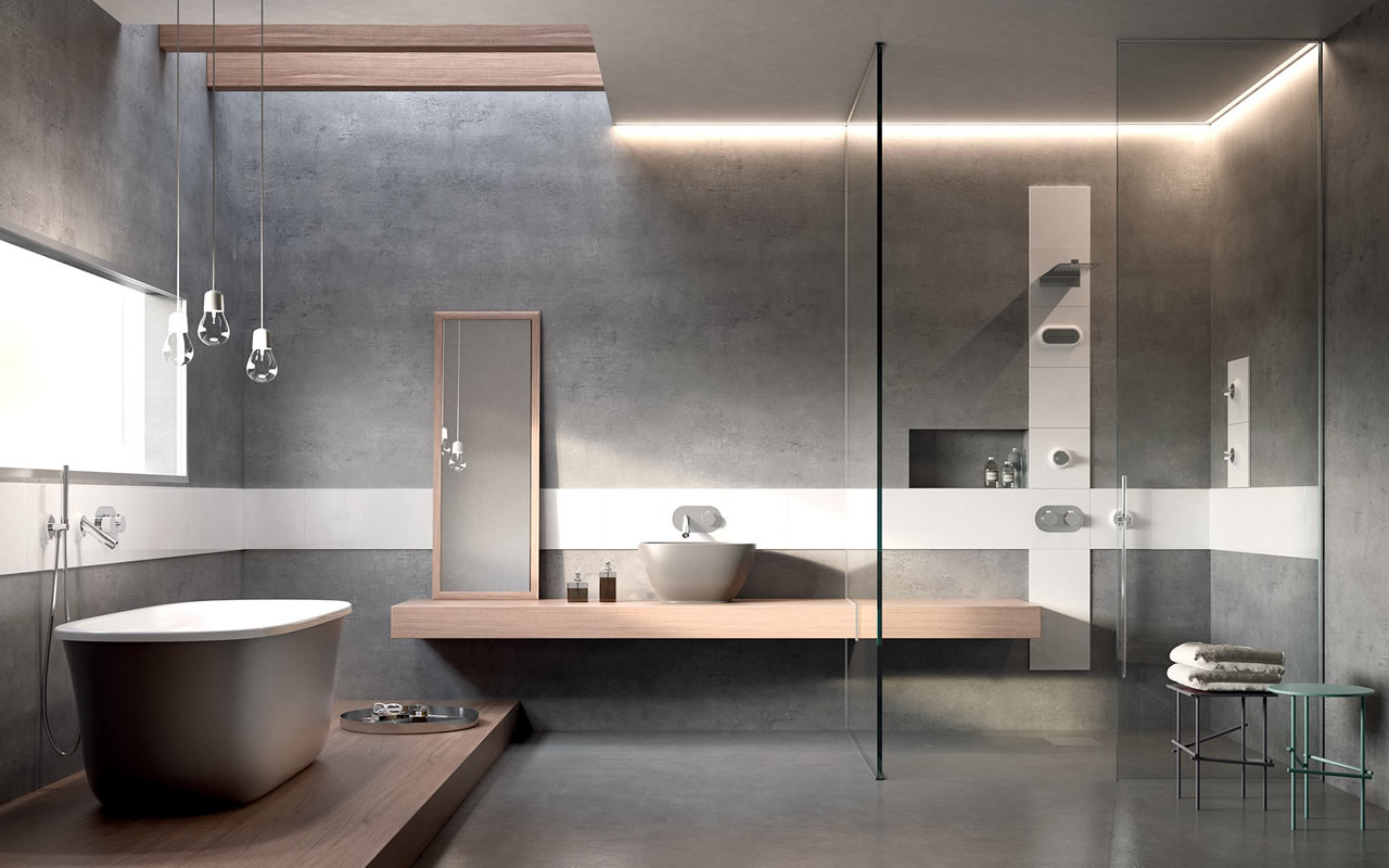 Centro arredo ceramiche arezzo ceramica arredo bagno - Bagni moderni con vasca ...