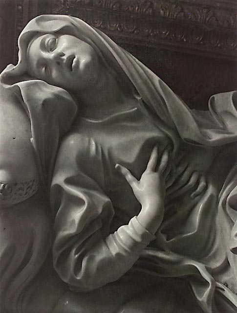 Blessed Ludovica by Gianlorenzo Bernini
