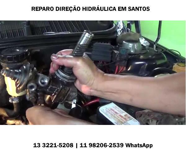 Reparo Direção Hidráulica em Santos