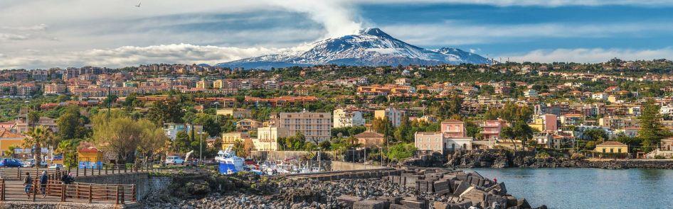Catania vista Etna