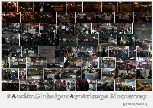 AccionGlobalporAyotzinapaMonterrey
