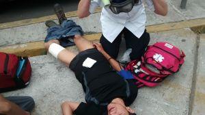 Agresion policiaca en CU 04