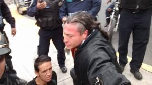 Agresion policiaca en CU 06