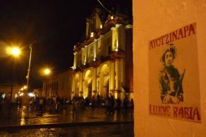 Ayotzinapa en San Cristobal de las Casas