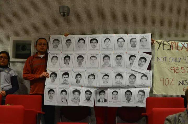 Ayotzinapa en York 1
