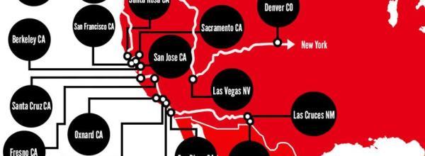 Actividades de la #Caravana43 en los Estados Unidos