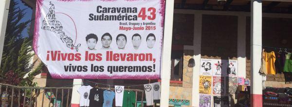 15 de mayo: Inicio de la Caravana 43 por Sudamérica en la Ciudad de México