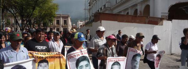 30 jul: Caravana Ayotzinapa Sureste arriba a San Cristóbal de las Casas