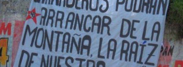 Ayotzinapa con Pueblos Originarios del EdoMex: 'La única lucha que se pierde es la que se abandona'