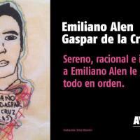 A 29 días #YoTeNombro Emiliano Alen Gaspar de la Cruz #Ayotz1napa #43Ayotzinapa