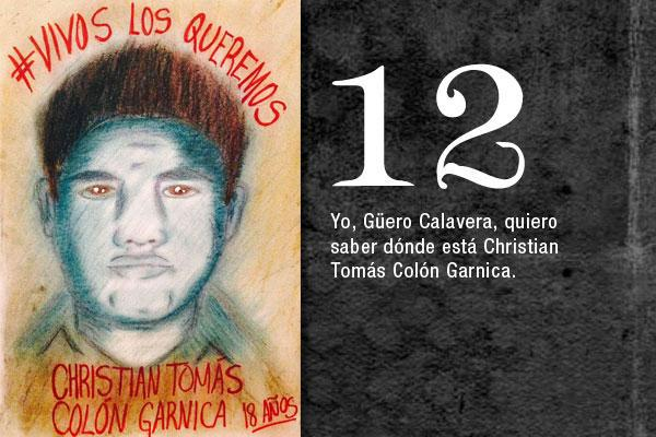 32 Christian Tomás Colón Garnica 3