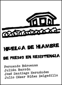 Huelga de hambre de presos en resistencia