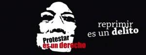 Protestar es un derecho