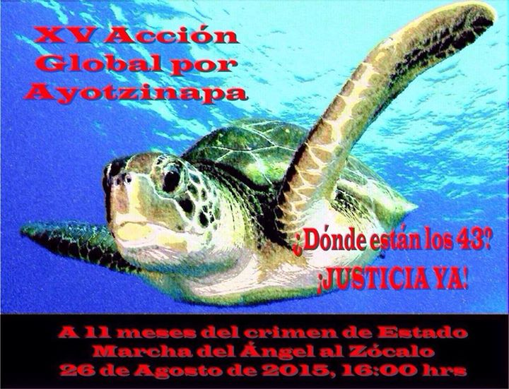 XV Accion Global por Ayotzinapa