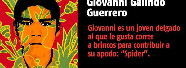 A 26 días #YoTeNombro Giovanni Galindo Guerrero #Ayotz1napa #43Ayotzinapa