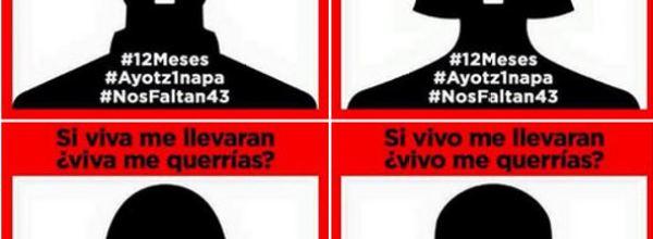 Ayotzinapa: Un buzón recorrerá la marcha del 26