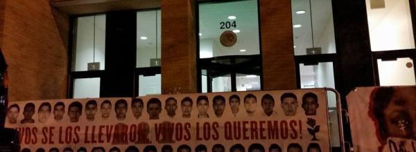 Primera noche de ayuno en Chicago por #43 de Ayotzinapa