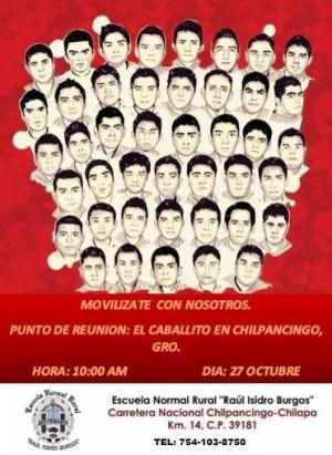 20151026 En Chilpancingo por los 43