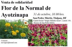 Flores de Ayotzinapa