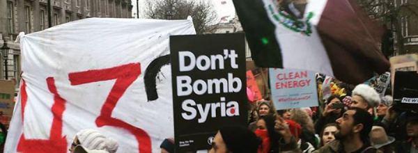 Londres: Por Siria, el cambio climático y los 43 de Ayotzinapa