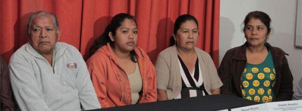 Presentan caso Ayotzinapa 2011 ante la CIDH