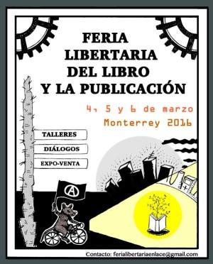 Mty Feria Libertaria del Libro