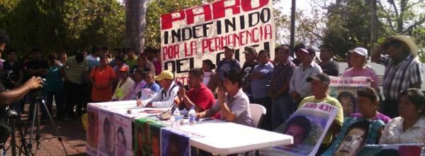 La Escuela Normal de Ayotzinapa a la huelga por permanencia del GIEI