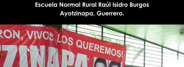 Ayotzinapa convoca a la Asamblea Nacional Popular del 3 de septiembre