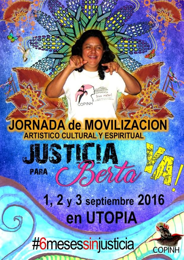 Jornada Justicia para Berta a 6 meses