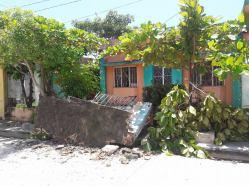 Daños en Puerto Arista 10
