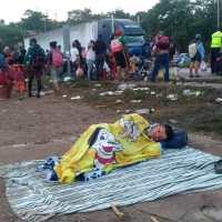 2 nov: Éxodo Migrante: De Matías Romero a Donají, Sayula, Acayucan #CaravanaMigrante