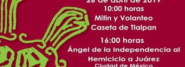 26 abr: 55 Acción Global por Ayotzinapa y México