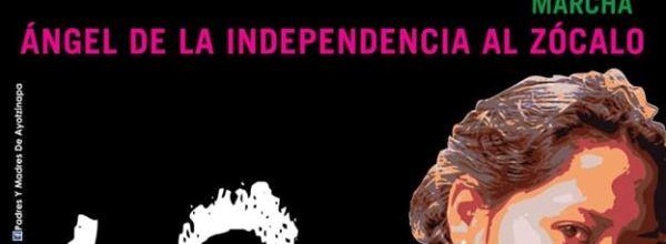 26 sep: A 5 años marcha por los 43 de Ayotzinapa