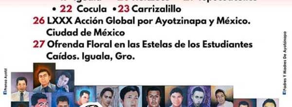 26 de mayo: Acción Global por Ayotzinapa