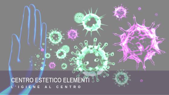 igiene al centro estetico elementi