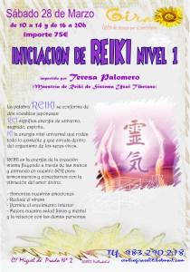 Reiki nivel 1 marzo 2015