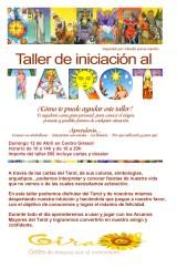 Taller tarot domingo 12