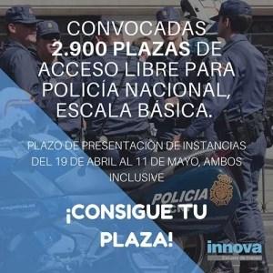 convocatoria policia nacional 2018
