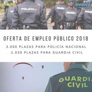 oposiciones guardia civil y policia 2018
