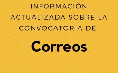 Información actualizada sobre la convocatoria de Correos