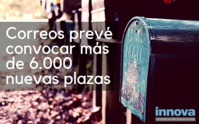 Correos anuncia convocatorias de más de 6.000 plazas para los próximos años
