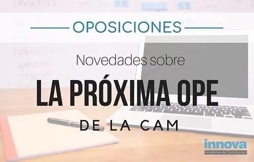 La Comunidad de Madrid publicará la OPE 2018 en diciembre según fuentes sindicales