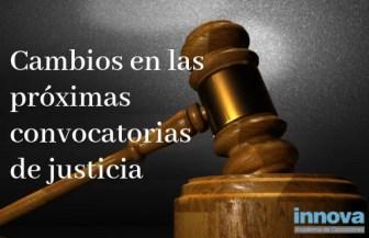novedades sobre las oposiciones de justicia 2019